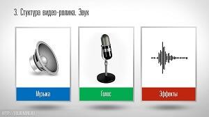 Звуковое оформление для слайд шоу
