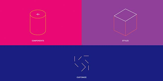 Matarial Design Lite фреймворк для создания сайта