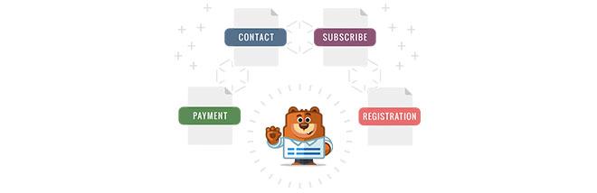 плагин контактной формы для WordPress WP Forms