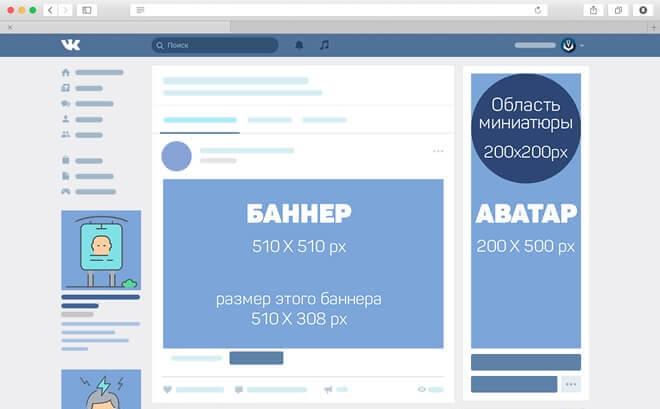 Дизайн аватара в группе ВКонтакте